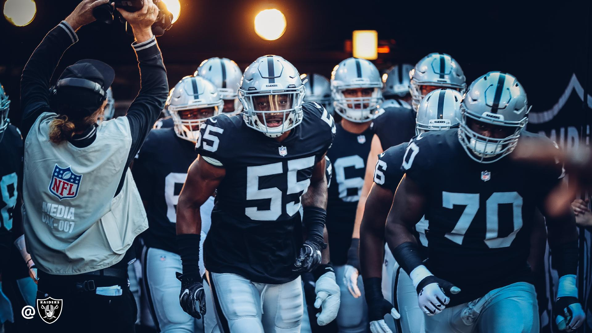 Something about playing under the lights.  #RaiderNation https://t.co/NJ35NYCbQ6