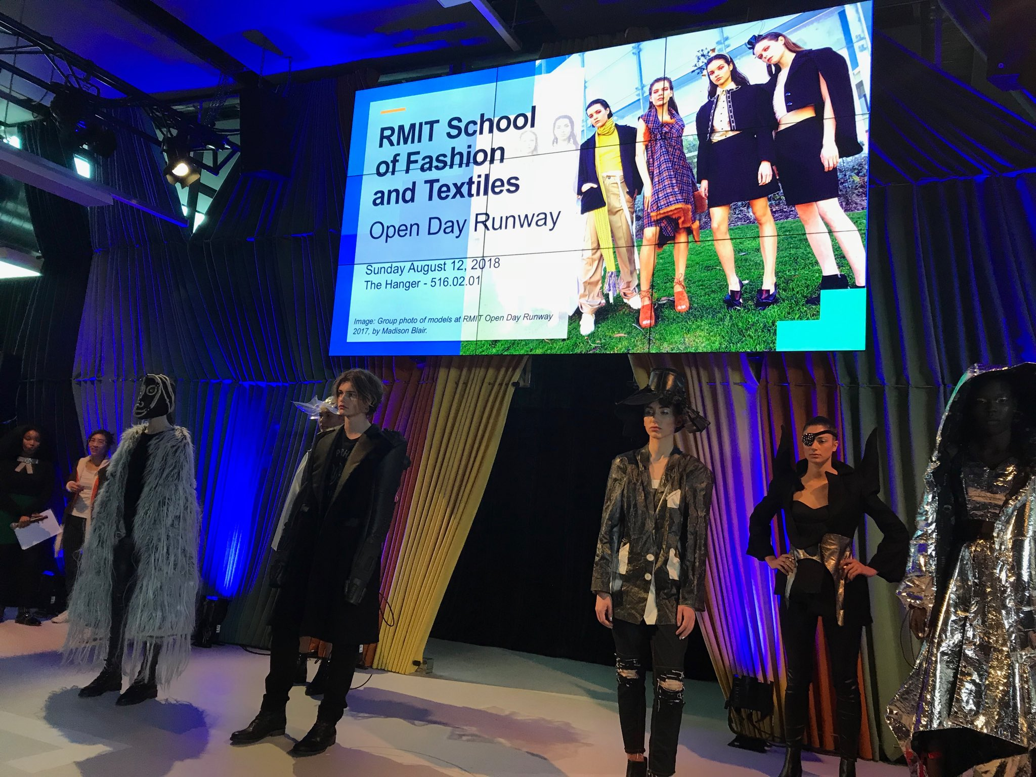 Ashlee Faletic On Twitter One Of The Best Parts Of Rmit Open Day Our Fashion Students Are Amazing Rmitopenday
