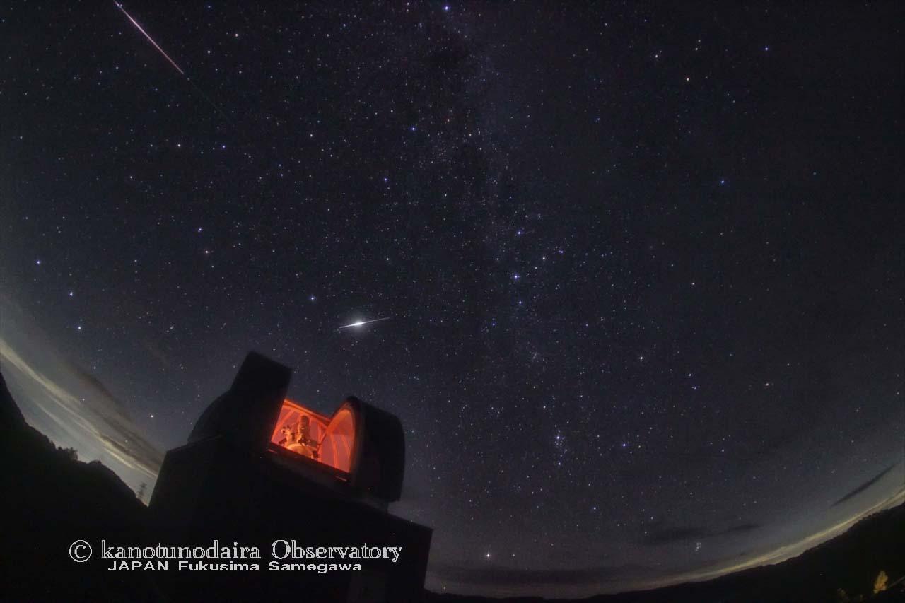 今夜はペルセウス座流星群