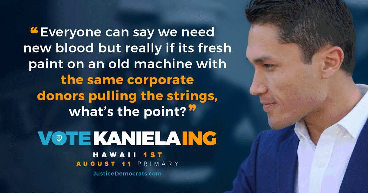 What got me into politics was my story &amp; music. These #RenegadesOfFunk lyrics by @RATM are my gospel.  &quot;We&#39;re the renegades, we&#39;re The People with our own philosophies.  WE change the course of history, everyday people like you &amp; me.&quot;   Vote &amp; join @KanielaIng&#39;s #FightforAloha! <br>http://pic.twitter.com/EmiwcVGmV2