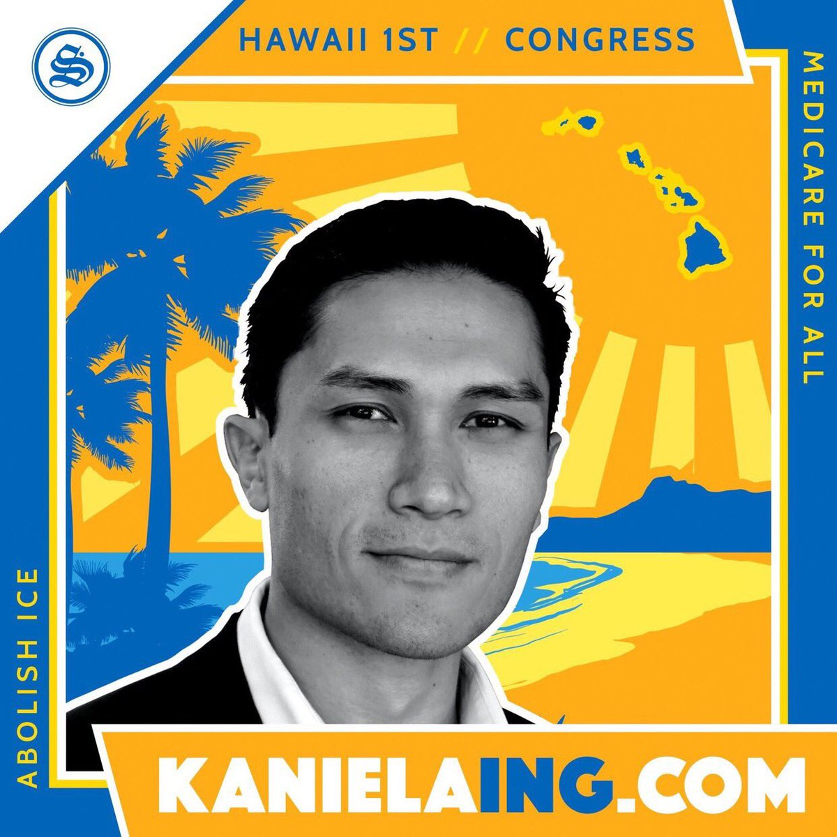 It&#39;s time to bring the Revolution to Hawaii&#39;s 1st District   Polls close in less than two hours (6PM HT)  Help get out the vote for @KanielaIng   Phonebank:  https:// justicedialer.com/candidate/kani ela-ing &nbsp; …   #Ing2018 #FightForAloha <br>http://pic.twitter.com/T6aFGFHtiG