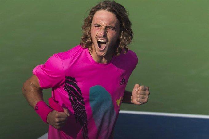 Stefanos Tsitsipas conmocionó el tenis mundial: le ganó a cuatro top ten y es finalista en el Masters 1000 de Toronto Photo