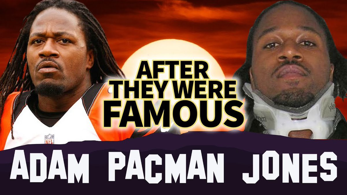 ADAM PACMAN JONES | AFTER They Were Famous | Airport Fight | Visit -&gt;  http:// bit.ly/2OtVNlJ  &nbsp;  <br>http://pic.twitter.com/tA4eHhSenY