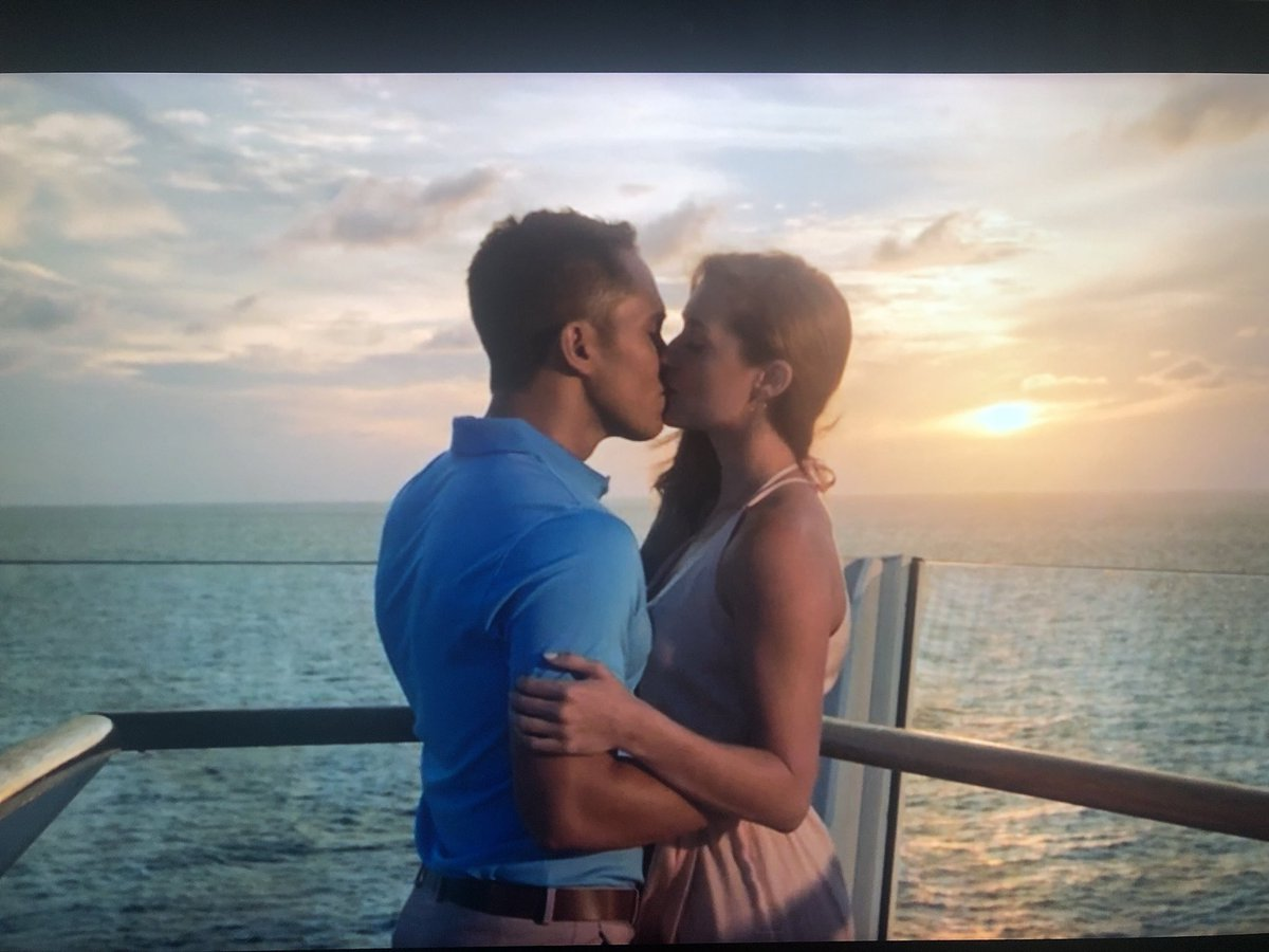Thank you all for watching #loveatsea my heart is so ful!! Until the next one!!! Xoxo @hallmarkchannel @RoyalCaribbean