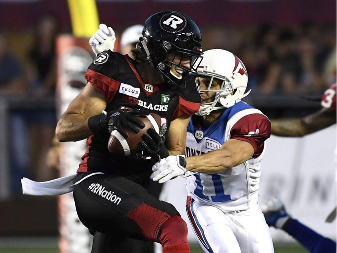 Photos: Redblacks 24, Alouettes 17 in Saturday night CFL action Photo