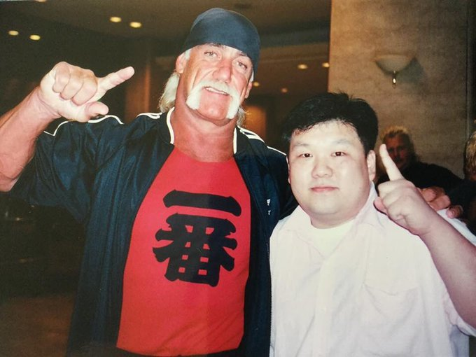 Happy Birthday to Hulk Hogan! Hulkamania forever! From Tokyo Japan.