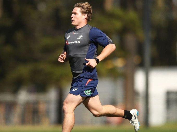 Michael Hooper fit for #RugbyChampionship opener. #AUSvNZL Photo