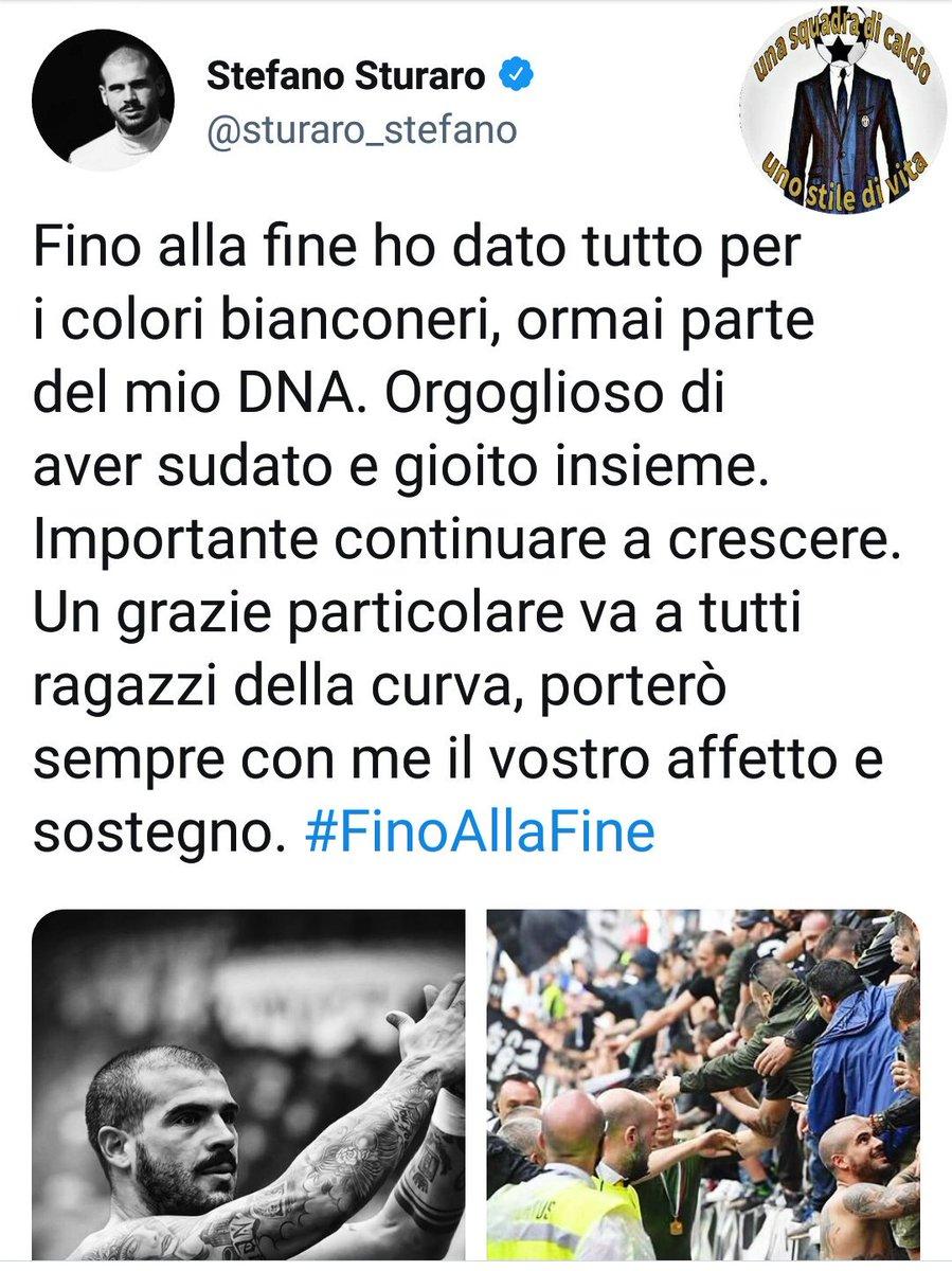 #12agosto Ecco il saluto social di @sturaro_stefano #Sturaro #JuventinoNelCuore Nonostante le tue carenze tecniche, sei e resterai uno da #Juventus, uno di noi.Grazie di tutto #Stefano e in bocca al lupo per tutto #FinoAllaFine #ForzaJuventus   - Ukustom