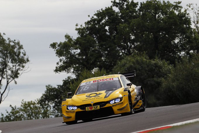 🚗💨 Fastest BMW driver in FP3 at #DTMBrandsHatch: @realTimoGlock with his DEUTSCHE POST BMW M4 DTM. #WeKeepOnPushing Foto