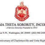 Image for the Tweet beginning: Delta Sigma Theta Sorority, Inc.
