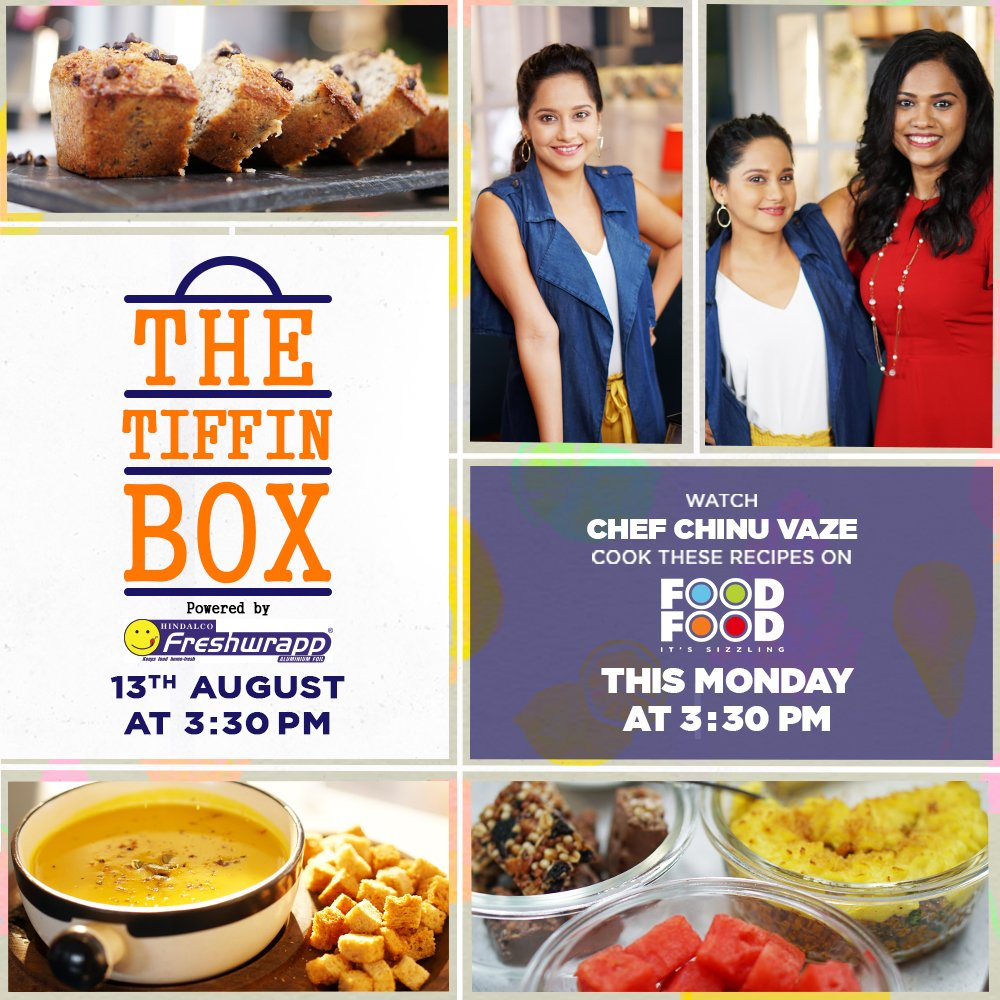Foodfood on twitter join chef chinu vaze along with kaveam this 1049 pm 11 aug 2018 forumfinder Choice Image