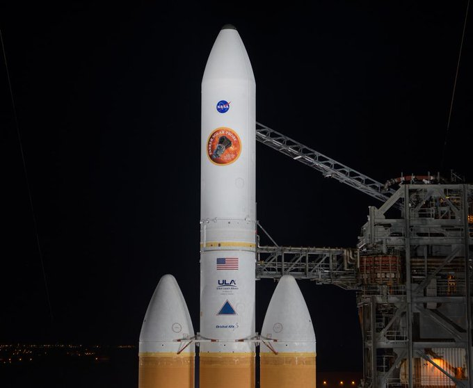#SunDay is a good day for a launch to the Sun! 🚀☀️ In an hour, live coverage begins of our second attempt to launch our Parker #SolarProbe spacecraft that will help us answer important solar mysteries. Tune in starting at 3am ET: Photo