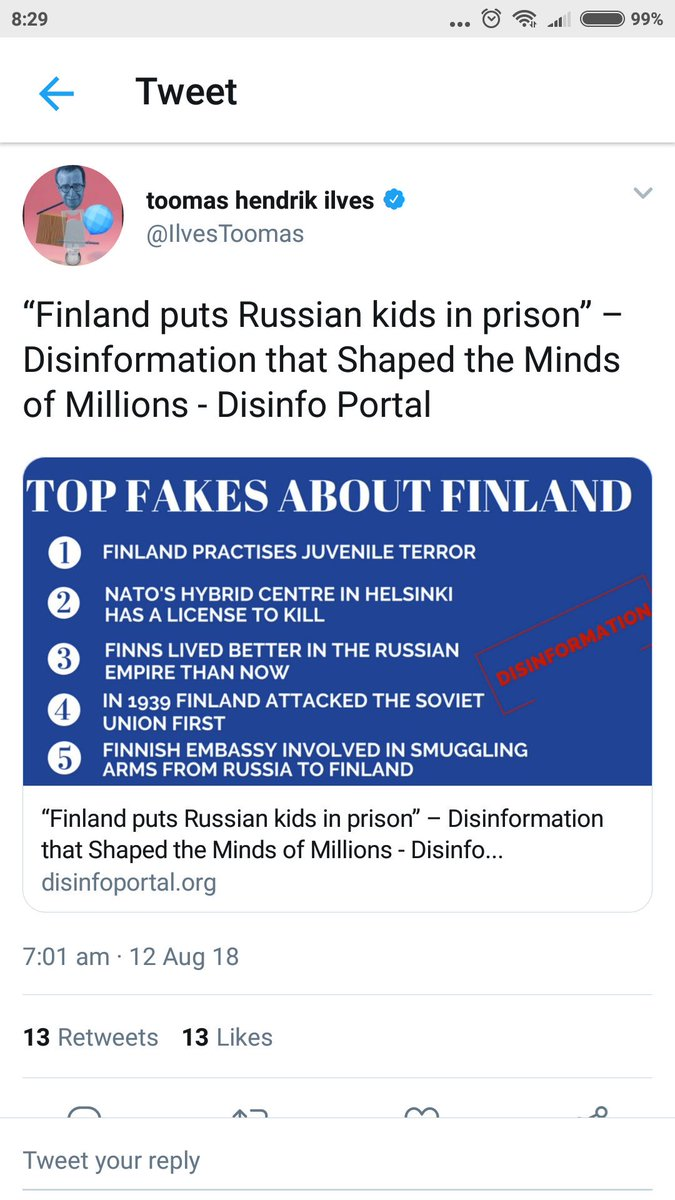 #FakeNews #12Agosto #Salvini #decretodignita #DiMaioInsegna #viminale Et voilà . Fake news in finlandia. Russia di nuovo. Che dite? Fake news in Italy. Russia again . What do you think?#Italy #Finland  - Ukustom