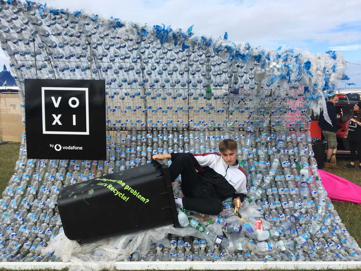Landed at @boardmasters join us at the @VOXI booth At 11am we're heading down to Watergate Beach for the #VOXIbeachclean #VOXIatBoardmasters