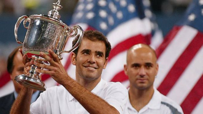 Happy birthday to one of the best tennis players ever, the one and only Pete Sampras