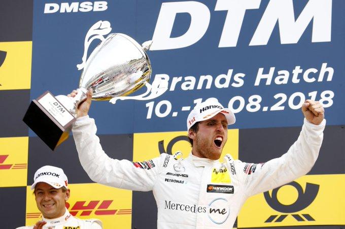 #DTM   Daniel Juncadella takes his maiden DTM race win at Brands Hatch - #DTMBrandsHatch Foto