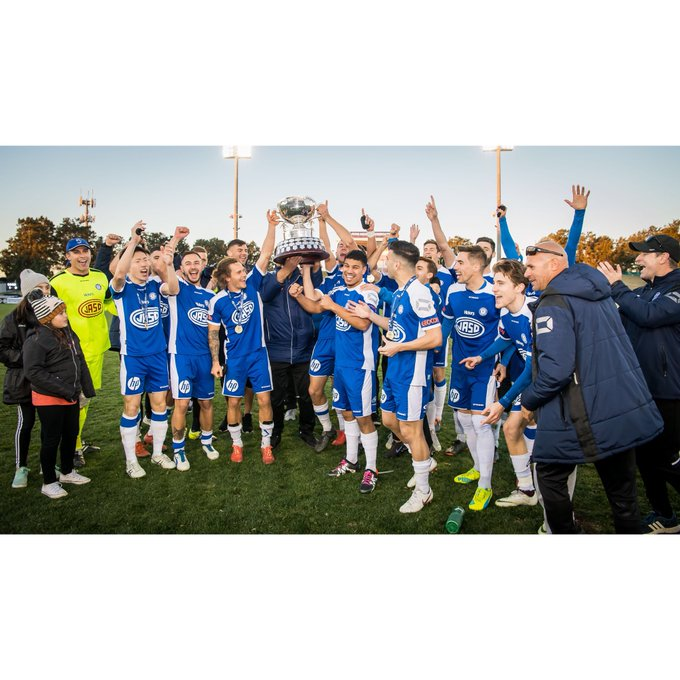 Football NSW would like to congratulate @SydneyOlympicFC, who have been crowned the 2018 National Premier League NSW Men's Premiers ⚽️🏆 #NPLNSW Photo