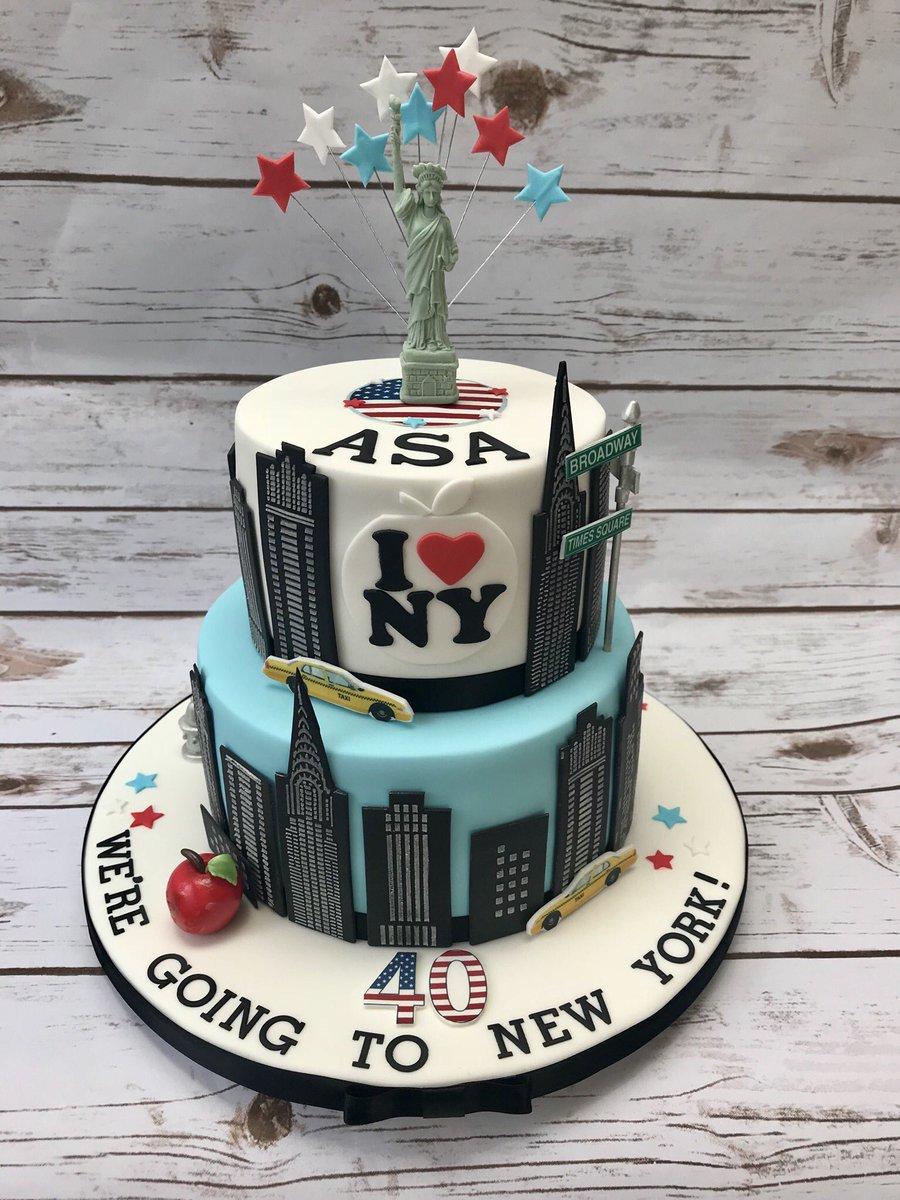 Pleasant Denise On Twitter A Surprise 40Th Birthday Cake Renshawbaking Personalised Birthday Cards Akebfashionlily Jamesorg