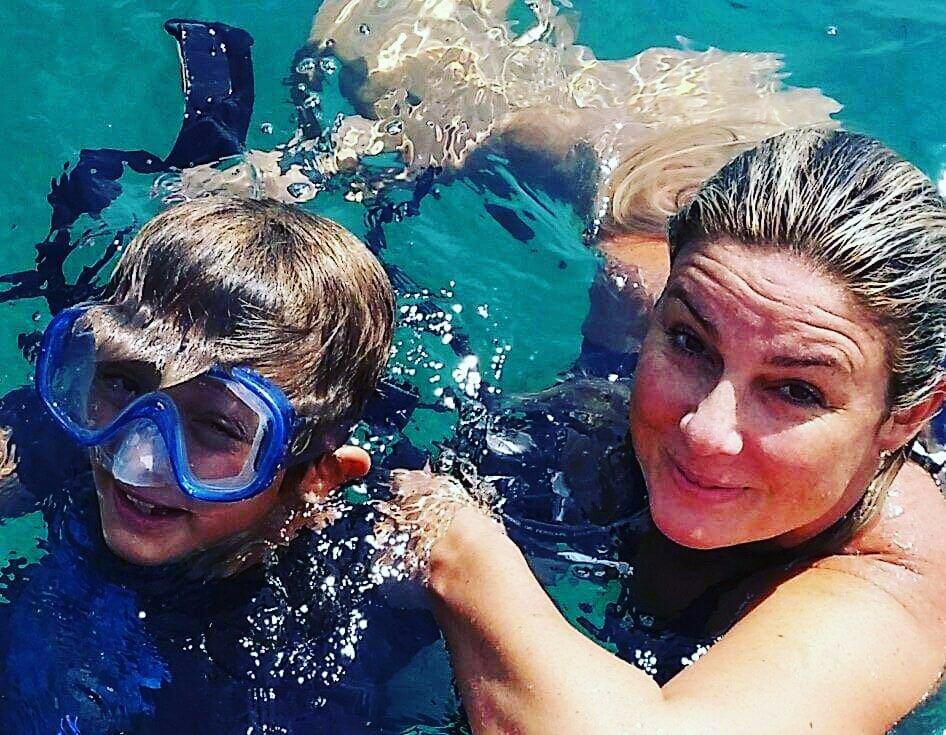 La vita mi ha fatto il regalo piú bello donandomi i miei figli e a me non resta che sorridere#mamma #figli #lupo #amore #mare #estate2018 #vita #dono #sorridere #curvyjade #giadadesideri  - Ukustom