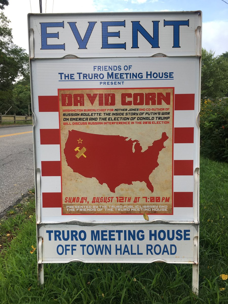 If you're near Truro, Massachusetts, tonight, come on by.