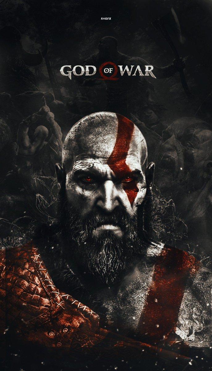 Rhgfx On Twitter God Of War Kratos Wallpaper Fanart