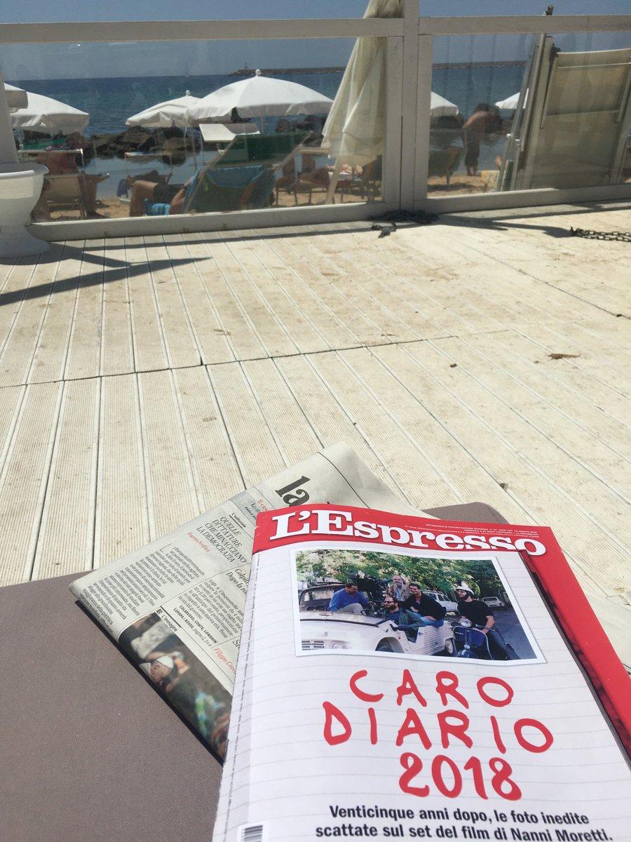 """Letture da spiaggia. Oggi su @espressonline omaggio a Nanni Moretti e la pellicola cult """"Caro Diario"""", 25 anni dopo. #minoranze #intellettuali #quarantenni #periferie #televisione #1993  - Ukustom"""