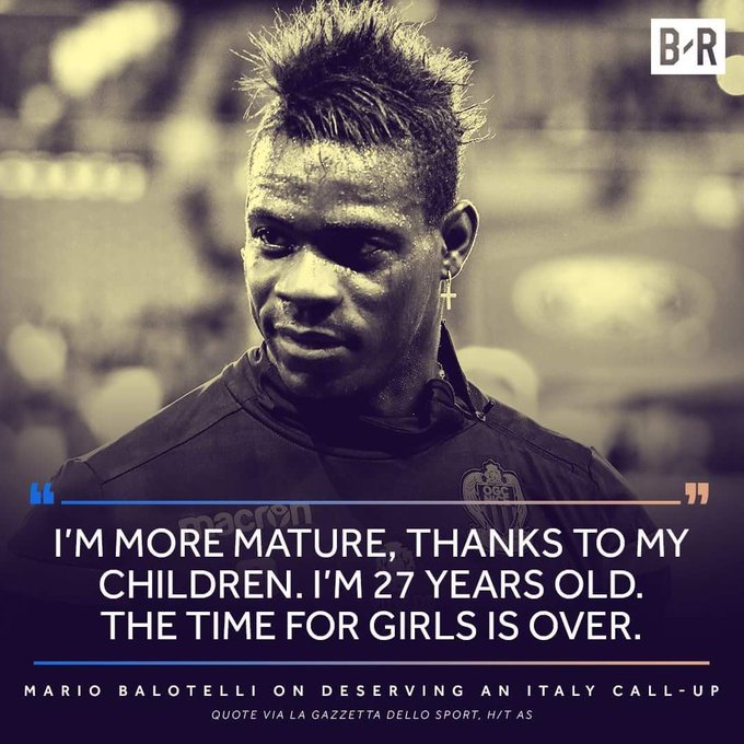 A Big happy Birthday to  Mario Balotelli