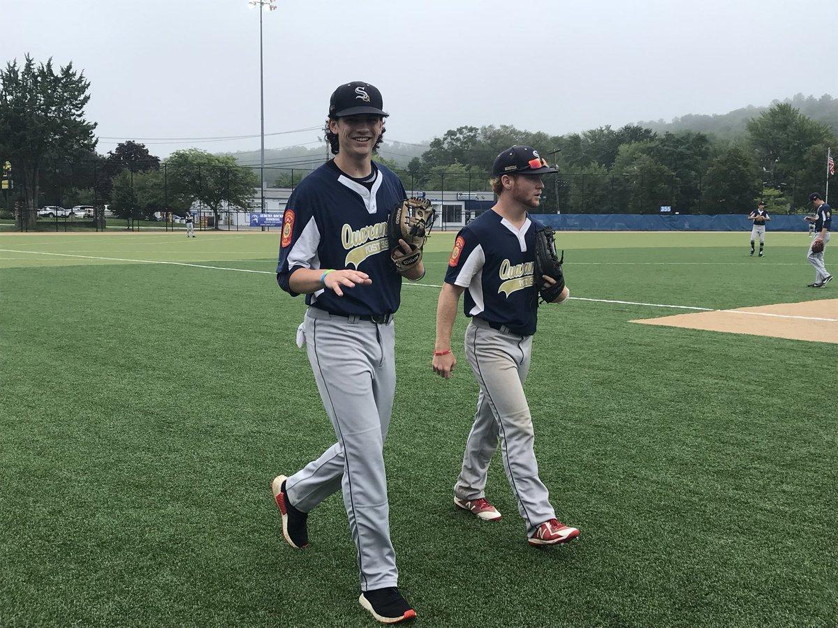 Auburn High baseball field, #Shrewsbury vs. Braintree, American Legion Northeast Regional championship, game underway. 3-2 them.  @tgsports<br>http://pic.twitter.com/GGXdL644gz