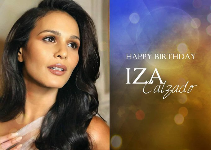 Happy Birthday to our Queen, Ms. Iza Calzado (soon-to-be-Wintle). Have a blast!
