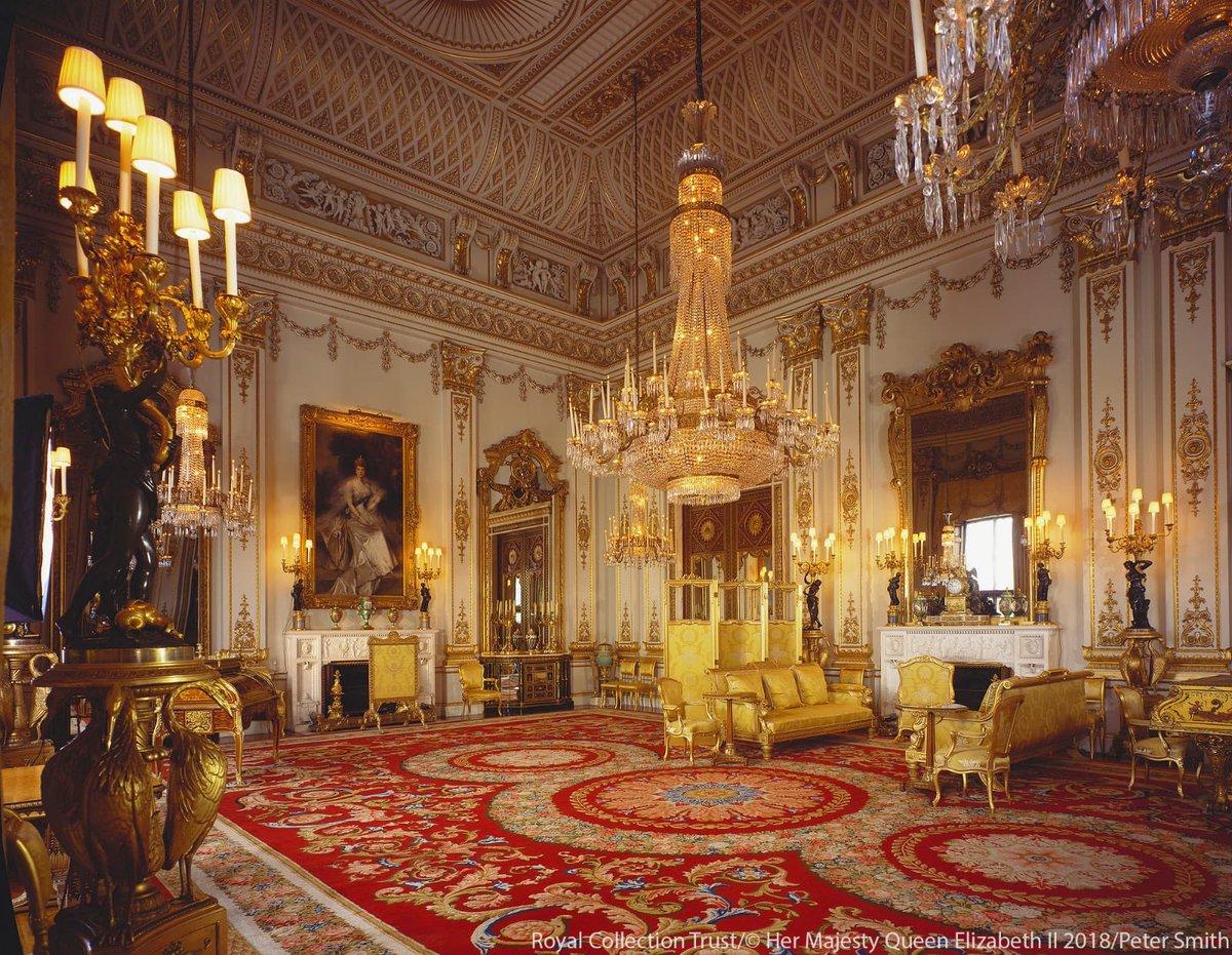 inside buckingham palace the queen's bedroom - HD1200×931