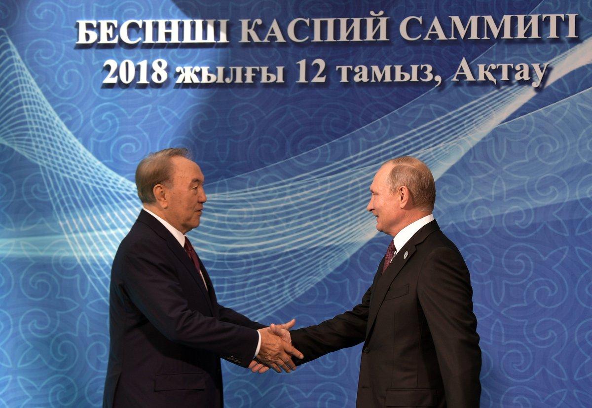 Vladimir Putin attended the Fifth Caspian Summit in Aktau bit.ly/2w1MiTp