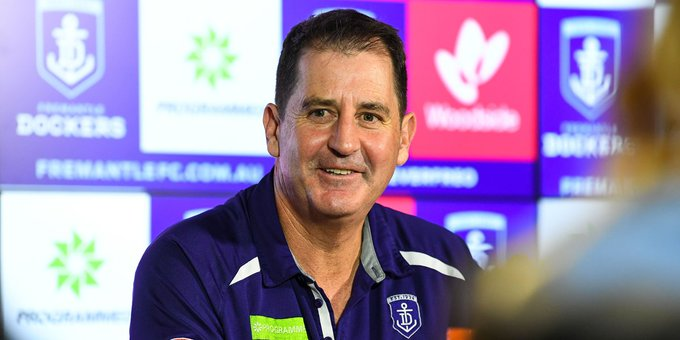 Watch Ross Lyon's full media conference following Sunday's win >>> #foreverfreo #AFLFreoBlues Photo