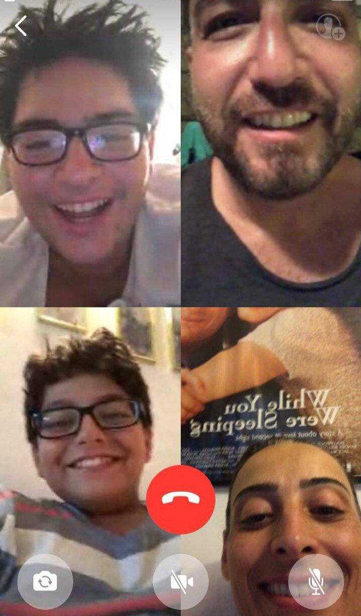 Our first group conversation on #whatsapp #kouyoumdjians
