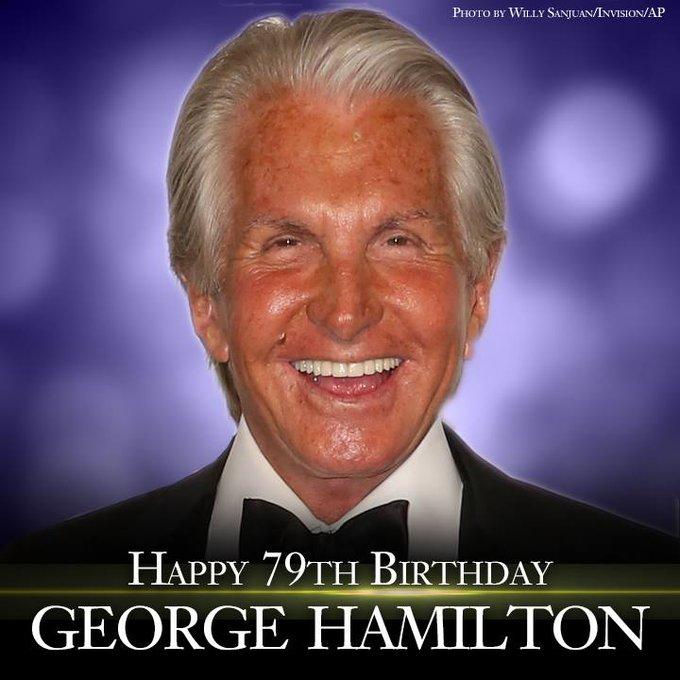 Happy Birthday to actor George Hamilton!