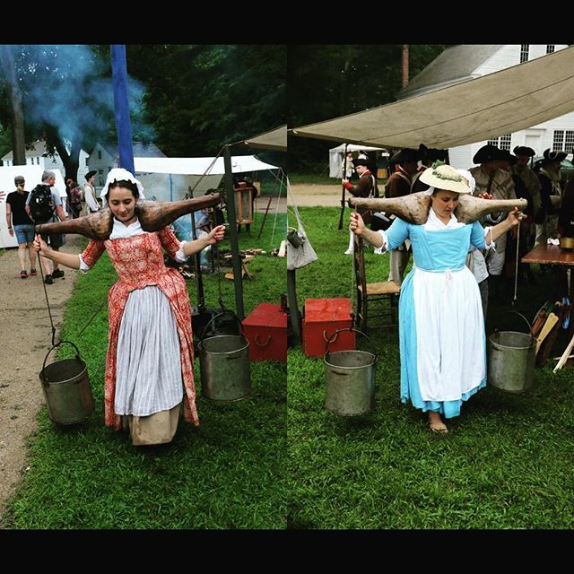 I'd like to say thanks to the women of the 2nd Mass for without them we wouldn't be able to do much of anything! #rebelsandredcoats #patriots #revolutionarywar #reenactment https://t.co/GtRoM5PDkD