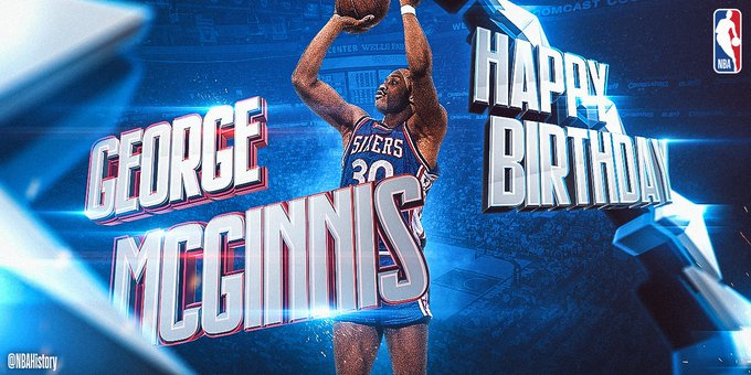 Happy 68th Birthday to 6x All-Star, 2x ABA Champ & Hall of Famer George McGinnis!