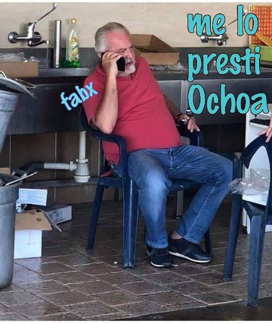 #Calciomercato #Napoli #DeLaurentiis chiede il prestito di #Ochoa   - Ukustom