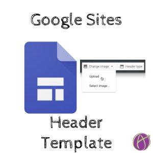 Google Sites Header Image Template - alicekeeler.com/2017/07/23/goo…