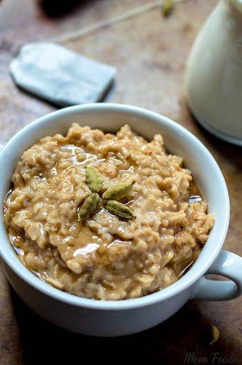 Chai Oatmeal perfect #breakfast to start your day #oatmeal #chai #tea #recipe https://t.co/923hTI9bNf https://t.co/ILuxgQk3dZ