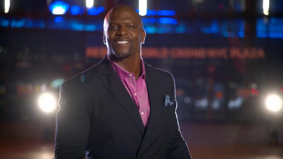Well-said, @terrycrews... WELCOME to another EPIC #SummerSlam!