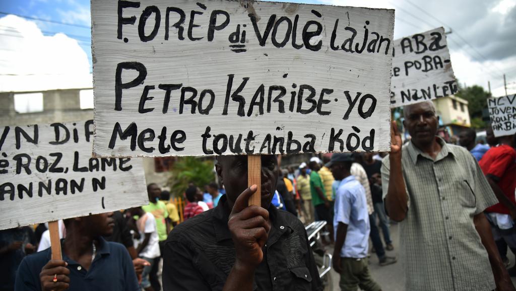 Fonds Petrocaribe: des Haïtiens demandent des comptes à la classe politique https://t.co/YqvVEBdWUa