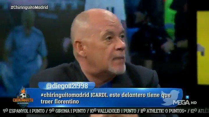 ¡OJO! A mi me dices que si quiero cambiar a Benzema, Bale y Asensio por Messi, Suárez y Dembélé y ME QUEDO con los DE BLANCO. @alfredoduro1 en #ChiringuitoMadrid