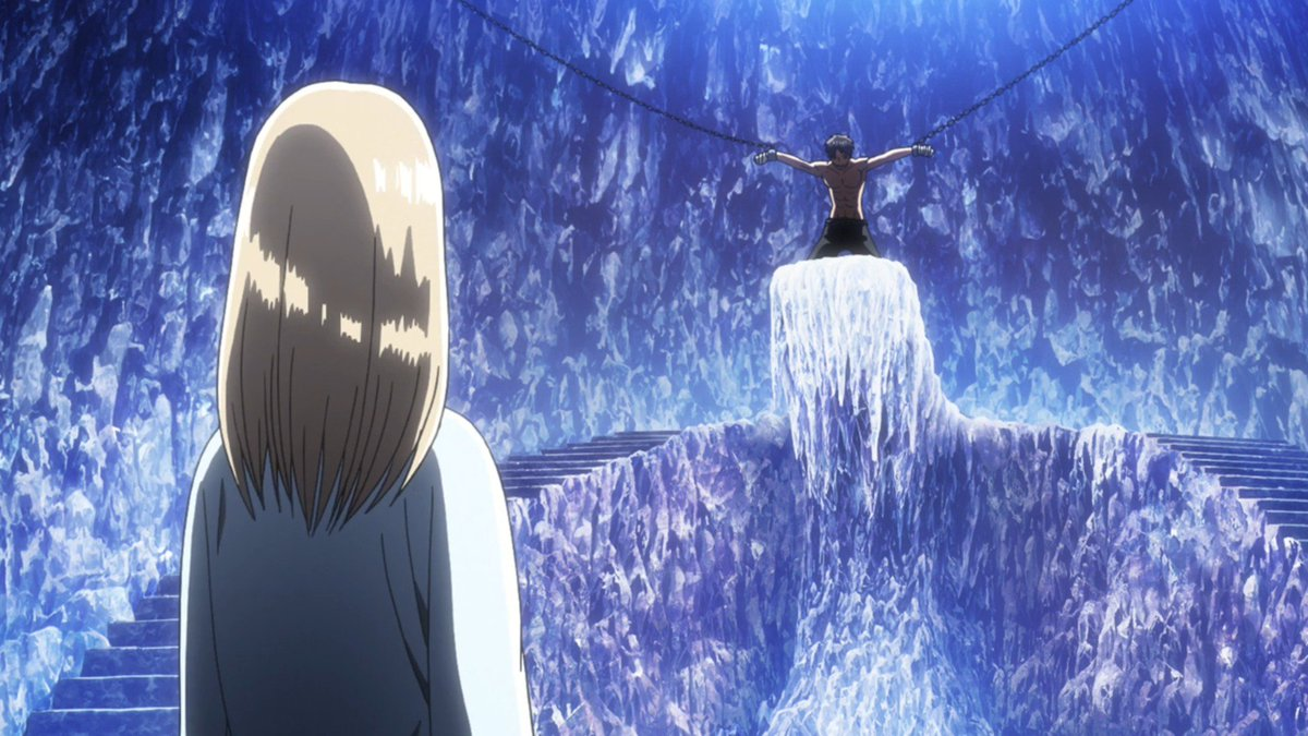 """Attack on Titan Wiki on Twitter: """"The cave looks beautiful in the ..."""