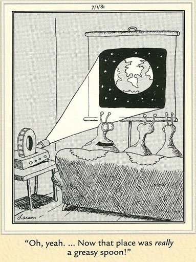 "Eric Bickernicks on Twitter: ""#farside #UFO #aliens… """