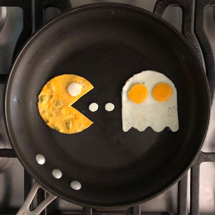 Днем, смешные картинки с яичницей