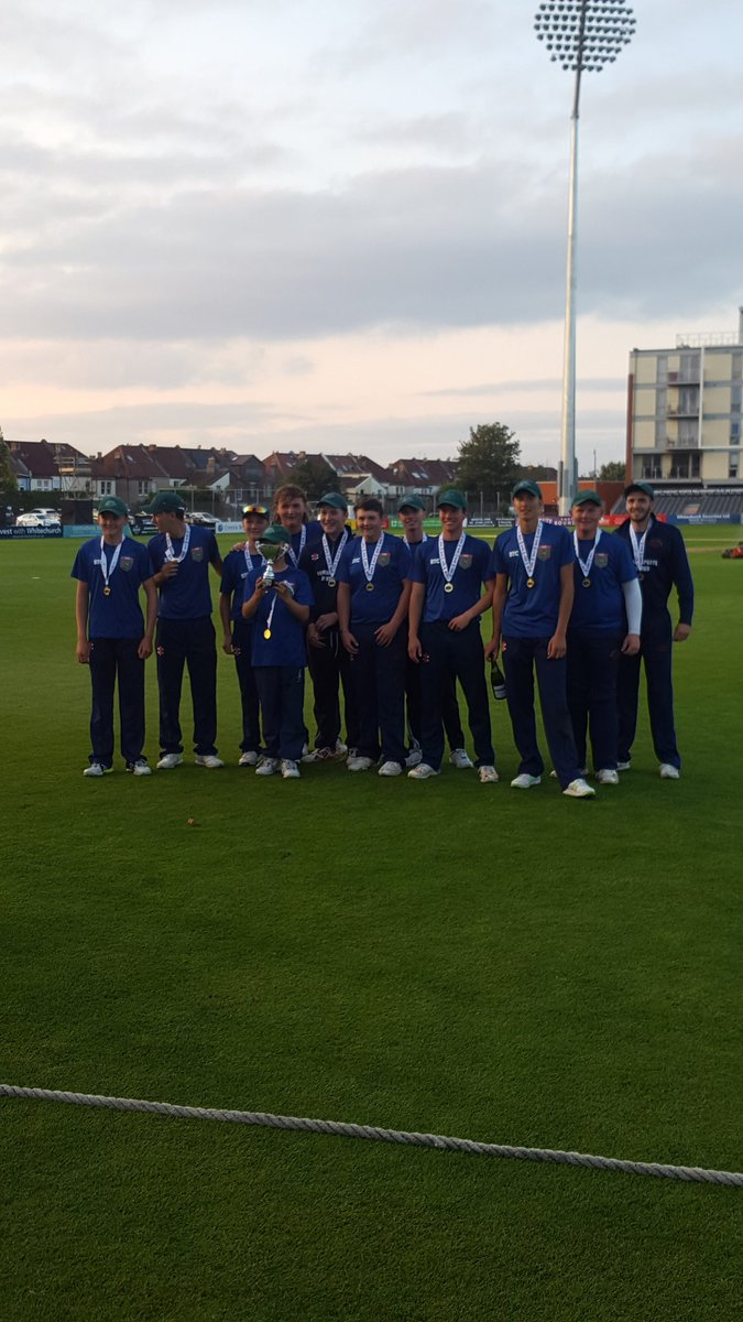 test Twitter Media - CHAMPIONS🥇🏆👏  Congratulations to this years Vitality Under 19 T20 winners @FrocesterCC Foxes🦊  A competitive final throughout. Well deserved winners!  A special thank you to our sponsor @FirstClassComms 👍 https://t.co/2rwUC8Gq8I