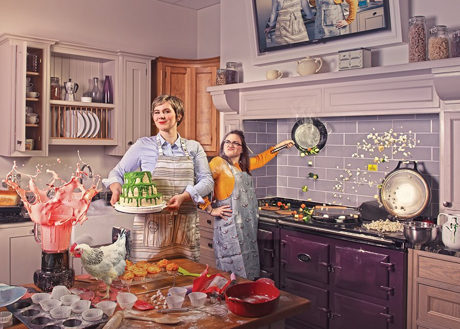 "Aga ~Joanna Kubera and Mary Paino.   ""AGA Edinburgh showcases a comprehensive collection of AGA cookers to suit every home and lifestyle, as well as AGA Cookshop a fabulous collection of high performance cookware for all serious cooks.""  8-9 Drumsheugh Place, Edinburgh EH3 7PT"