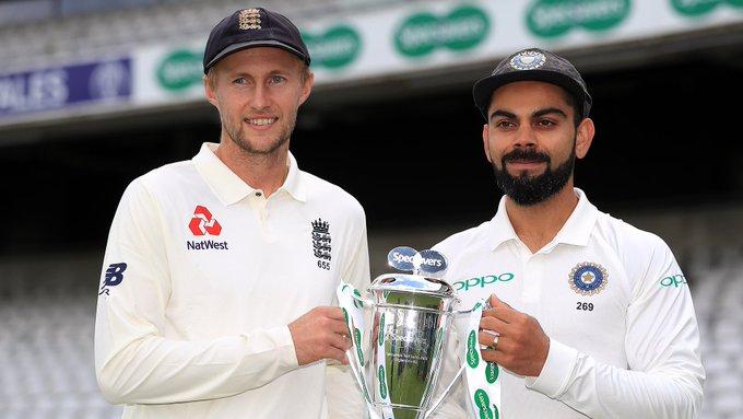 Joe Root or Virat Kohli - Who is the better batsman? 🏏 🔁 Root ❤️ Kohli #EngvInd Photo