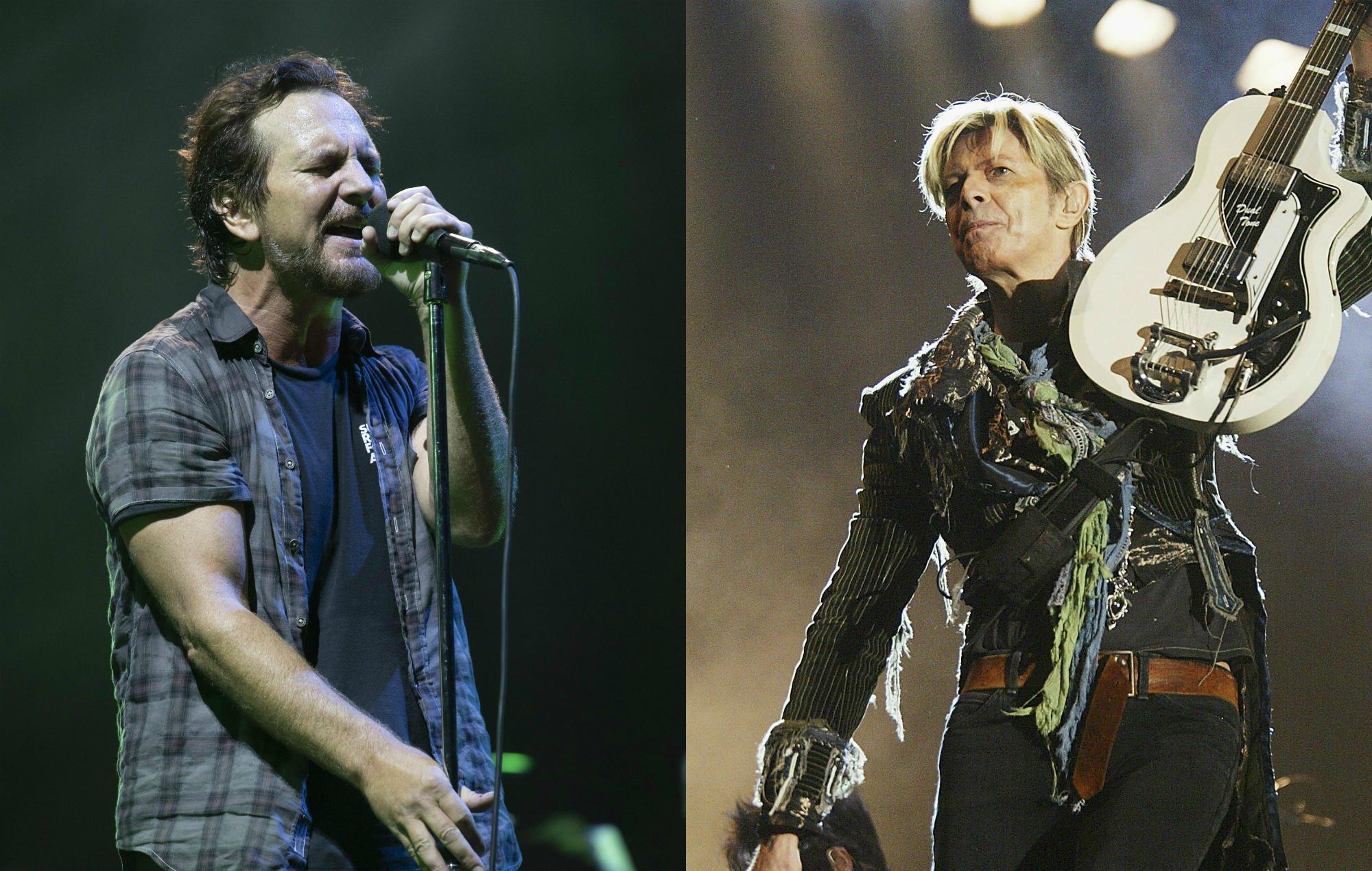 Here's Pearl Jam covering David Bowie's 'Rebel Rebel' https://t.co/fbZgUL1Ujv https://t.co/X74IDLgD4V