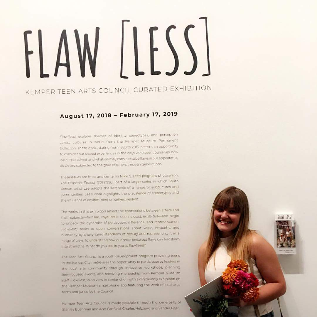 One of our talented students has her art on display at the @KemperMuseum. We&#39;re super proud of Lexi and proud to have her talent in our Digital Design Studio. Opening was this weekend, but will be on display untill February of next year. <br>http://pic.twitter.com/tmD3fnkgsY